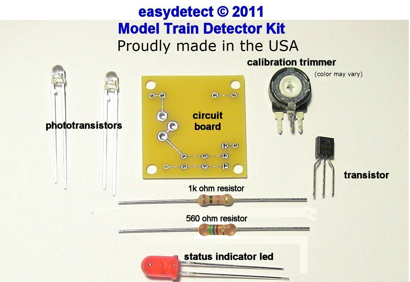 Bi Directional N Scale Model Train Detector Kit For Crossing Signal Ho Railroad Wiring Diagrams