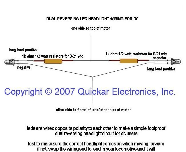 Quickar Electronics HOW TO HOOK UP LEDS - choosing the correct ...