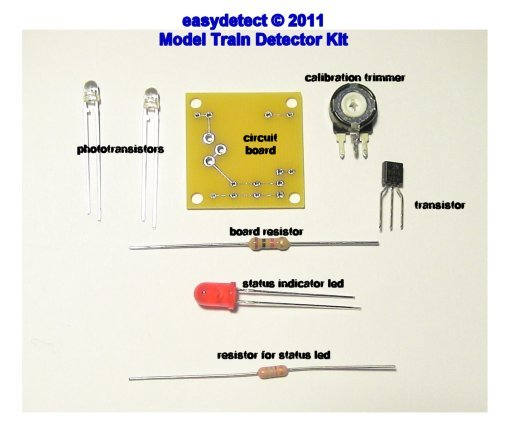 100 NEW 3MM LED HOLDERS FOR HO SCALE CONTROL PANELS